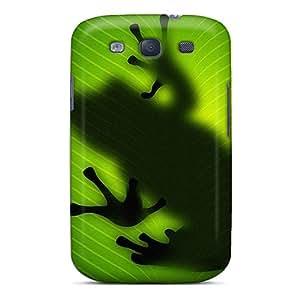 High Grade JoyRoom Flexible Tpu Case For Galaxy S3 - Frog