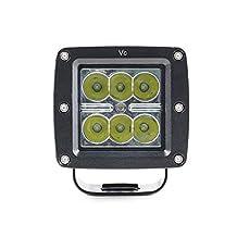 Vc Single 12V 24V Cree LED Driving Car Square Light Spot Light Super Bright 24w Cree Auto Work Lamp For Vehicles,Boat,Truck