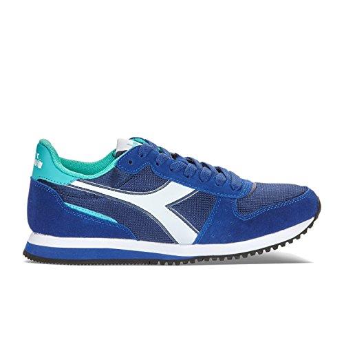 Diadora Sneaker Damen W Presskeramik Malone green Blue C6471 Low Hals Light qqFrwSPtd