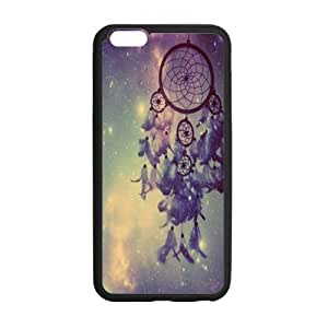 Colorful Cloud Feather Dream Catcher Pattern Hard Case Iphone 6 plus 5.5 Shell Case Cover (Laser Technology) by icecream design