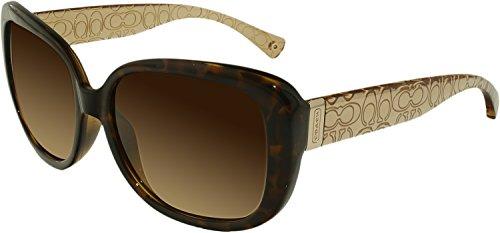 Coach 0HC8076 Square Womens Sunglasses