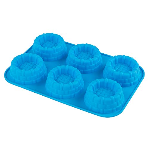 Webake Shortcake Baskets Cake Pie Pan Silicone Mold Cupcake Muffin Jello Soap Molds Bakeware Tray