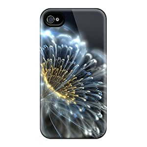 Vzu11167RGls Snap On Cases Covers Skin For Iphone 6(cristal Flower)