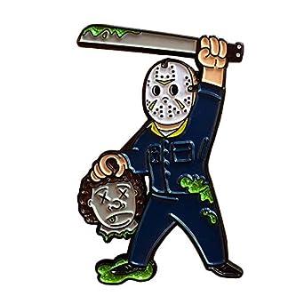 Nai-Style Pin de la Novedad del Viernes 13 Variante Jason ...