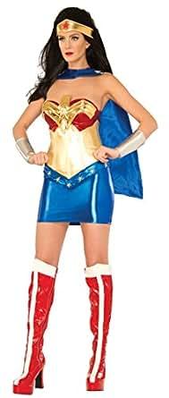 Amazon.com: DC Comics Wonder Woman Classic Deluxe Costume: Clothing