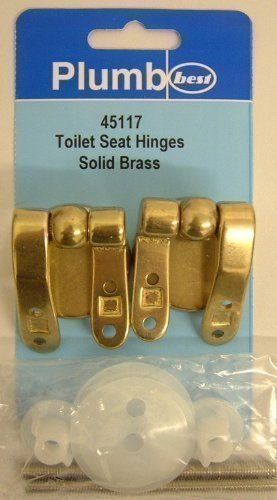 Brass Toilet Seat Hinges.Solid Brass Toilet Seat Hinges Bathroom Nylon Washers