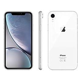Apple iPhone XR, 64GB, White – Fully Unlocked (Renewed)