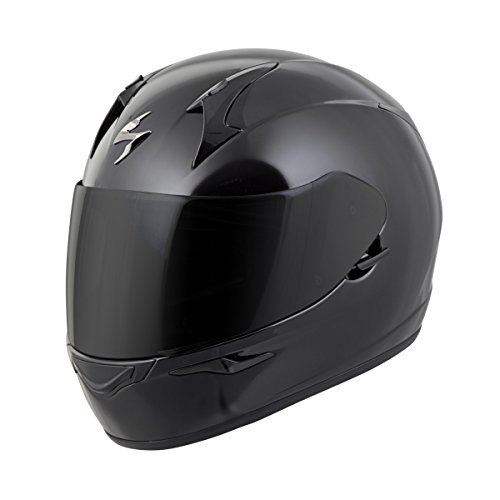 Scorpion EXO-R320 Full-Face Solid Helmet Gloss Black Large (More Size Options)
