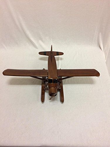 Beaver Airplane Replica Hand Crafted with real Mahogany (Canada Aircraft Replica)