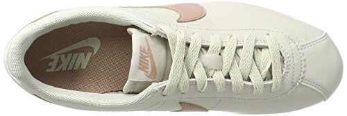 Lt Beige de Leather White Mujer Zapatillas Bone por Estar Nike para Classic Particle Cortez Summit Casa Pink q4PwWW1vc
