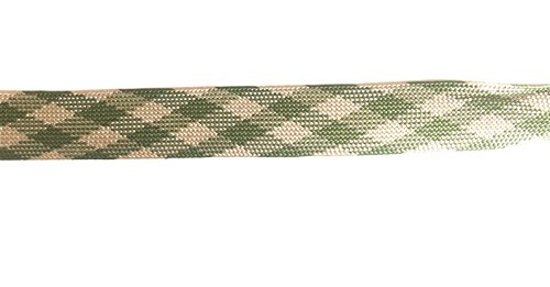 Criss Cross Trim Dress (Designer PLAID FOLDOVER BRAID Ribbon Trim , Multi Colors - For Clothing , Pillows, Drapes 5 Yds FO-103B)