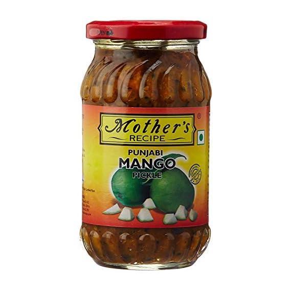 Mothers Recipe Punjabi Mango Pickle Bottle, 400 g