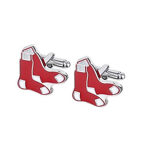 Promotioneer Mens Baseball The Team Logo Symbol Series Cufflinks with Gift Box