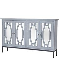 Sterling Presidio Storage Cabinet II In Gravesend Grey Medium