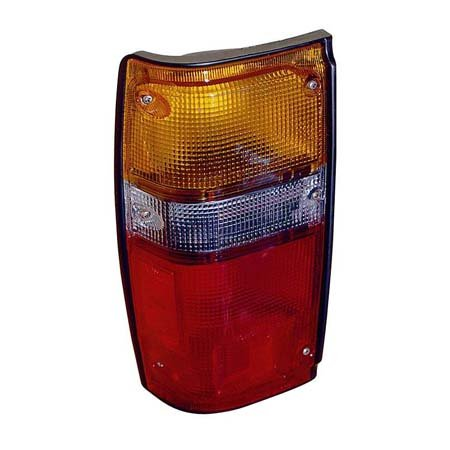 (Fits Toyota Pickup 2/4WD 1984-1988/4Runner 1984-1989 Tail Light Assembly Driver Side Black)