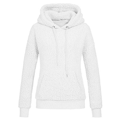 Clearance Forthery Women's Sweatshirts Fleece Pullover Hoodie Warm