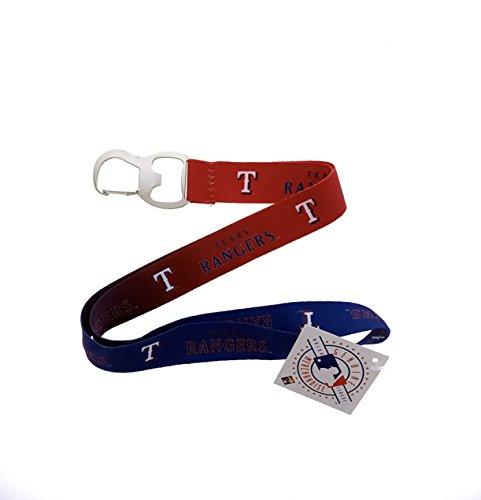 Baseball Sports Keychain Lanyard with Bottle Opener Texas Rangers