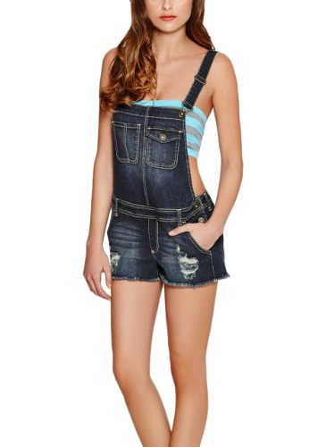 G by GUESS Women's Shelby Shortall, DARK DESTROY WASH (LARGE)