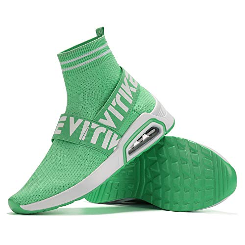 Femmes Sport 2 Chaussures Coussin Garçon De D'air À Pour Fille vert légères Baskets Ultra Mode nq5XxgO5