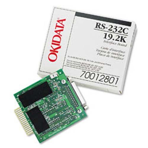 OKIData - OKI - Serial adapter - RS-232 - RS-232 - for Microline 320, 321, 390, 391, 420, 421, 490, 491, 520, 521, 590, 591, 8810