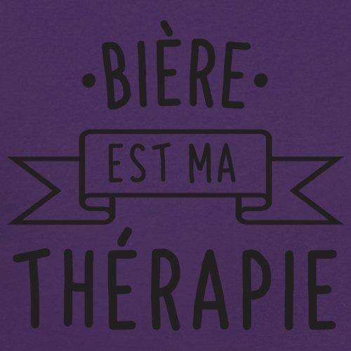 La bière est ma thérapie - Femme T-Shirt - Violet - XL
