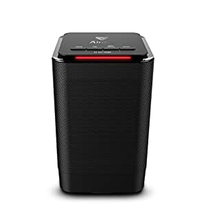 Space Heater - Oscillating Portable Heater with Adjustable Thermostat 3 Setting Fan/450W/950W - Ceramic Heater with Tip-Over Protection for Any Room, Office or Home, Over-Heat Protection