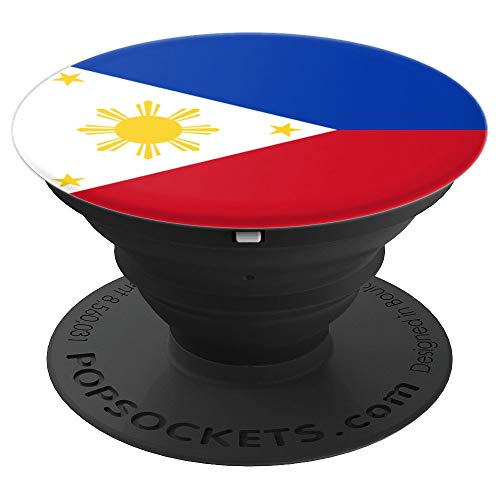 Philippines Flag - PopSockets Grip and Stand for Phones and Tablets