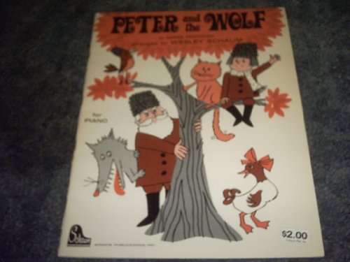 Peter and the Wolf for Piano
