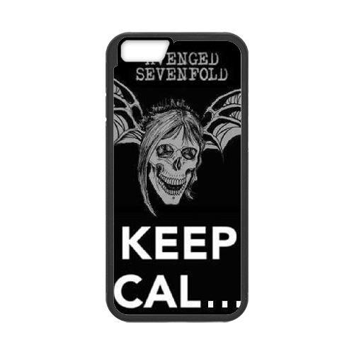 Avenged Sevenfold coque iPhone 6 4.7 Inch Housse téléphone Noir de couverture de cas coque EBDOBCKCO12517
