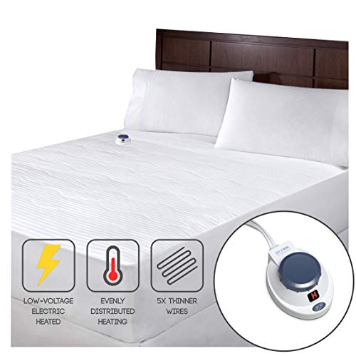 Soft Heat 233 TC Dobby Stripe Electric Warming Mattress Pad