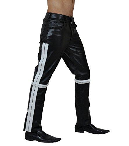 Mens Custom Leather Pants - 6