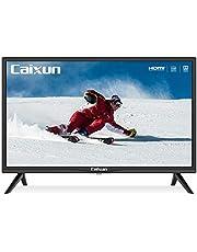 Caixun EC24Z2, 24 inch HD (720P) LED TV with Built-in HDMI, USB, VGA, Earphone, Optical Ports (2021 Model)