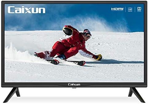 Caixun EC24Z2, 2020 TV HD LED,24 Pollici di Basic,HD Ready 720p Televisori, (Tuner Triplo(DVB-T2/T/S2/S), HDMI,USB,60HZ Media Player, [Classe energetica A+]