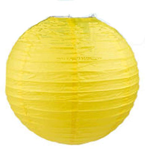 thaisan7, Yellow 16'' Paper Lantern Chinese Decoration Wedding Festivals, Birthdays Even Festival Party x 10 Pack by thaisan7