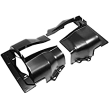IAP Performance AC119313 Cylinder Head Tin (Black Dual Port Pair for VW Beetle)