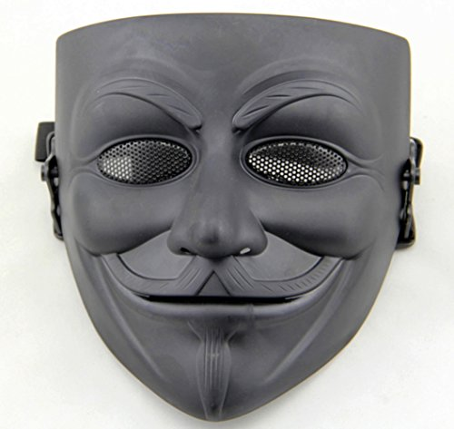 Gmasking Movie V for Vendetta Guy Fawkes Anonymous Airsoft Paintball Halloween Mask -