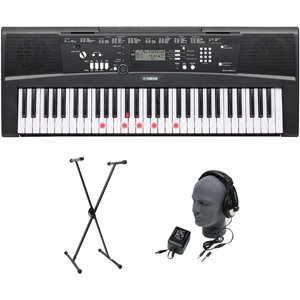 yamaha-ez-220-61-lighted-key-premium-portable-keyboard-package-with-headphones-stand-and-power-suppl