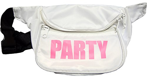 Neon Fanny Pack (White) (Womens 80s)