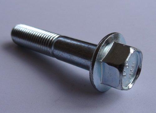(10) M10 - 1.25 x 50mm JIS Hex Head Flange Bolt - Small Head, Class 10.9 Zinc