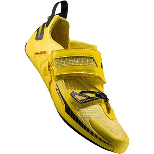 Cheap Mavic 2014/15 Men's Tri Helium SSC Triathlon Cycling Shoe (Mavic Yellow – 12.5)