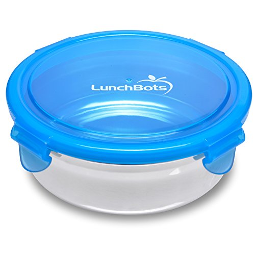 LunchBots Clicks Stainless Steel Food Container (2.5 Cup) - Leak-Proof Lunch Container for Salads, Sides and Leftovers - Eco-Friendly, Dishwasher Safe and BPA-Free