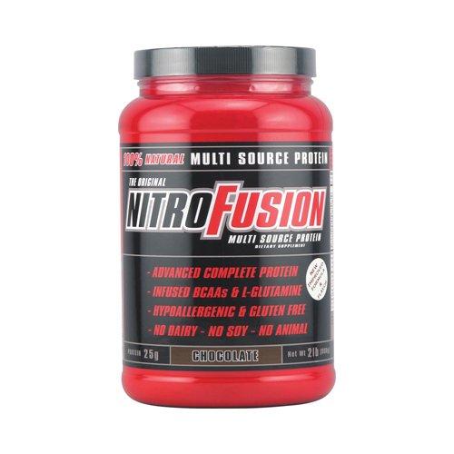 Nitro Fusion proteína Multi-Source fórmula Chocolate - 2 libras