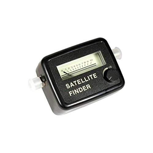 Satellite Signal Strength Meter Finder Squawker Finder Locator Tester, Dish Network, 2 GHz, 13 - 18 VDC, 75 Ohm