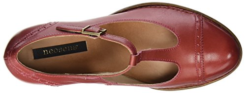 Geranium Neosens Women's Red Restored Shoes Rococo Skin S849 Geranium Strip Vertical wvwxBn