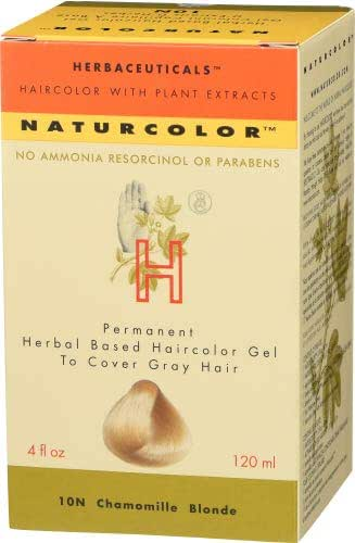 Naturcolor 10N Chamomile Blonde Hair Dyes, 4 Ounce