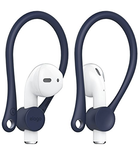 elago AirPods EarHook [Jean Indigo] – [Lightweight] [Long-Lasting Comfort] – for Apple AirPods