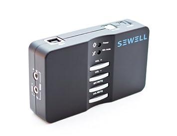 Tarjeta de sonido USB Box Sewell Direct Sound Externo 7.1 y ...
