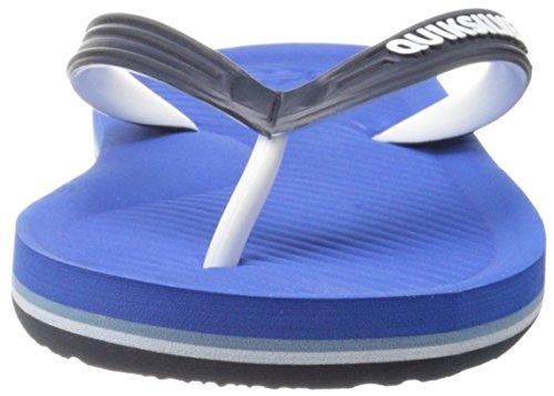 Quiksilver Männer Haleiwa Sandale Schwarz / Blau / Weiß