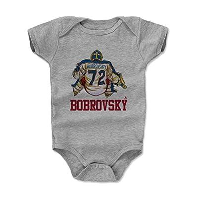 500 LEVEL's Sergei Bobrovsky Baby Onesie - Columbus Hockey Baby Clothes - Sergei Bobrovsky Sketch
