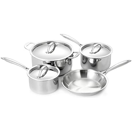 Cuisinox POT 407 Super Elite 7 Piece Cookware Set